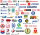 Логотипы курьерских компаний в рейтинге КурьероФФ