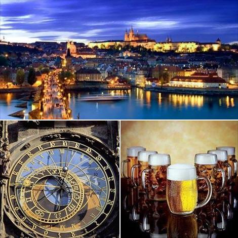 Виза в Чехию будет доставлена курьерской службой Фокс Экспресс