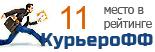 Компания ICExPress участвует в рейтинге курьерских служб доставки КурьероФФ.Ру