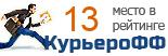 Компания Fattorino участвует в рейтинге курьерских служб доставки КурьероФФ.Ру