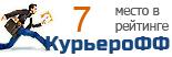 Компания Авиакурьер-Экспресс участвует в рейтинге курьерских служб доставки КурьероФФ.Ру